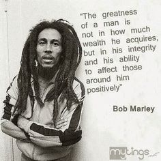 The Cultural Influences of Bob Marley