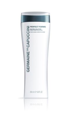 Germaine de Capuccini's Perfect Forms SM- Peel Solution is a correcting cream able to prevent the formation of stretch marks and reduce their appearance. This cream combines highly concentrated natural ingredients  to help the stretch marks reduce in size, depth and length.