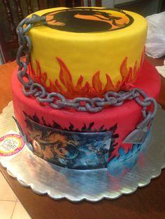 Mortal kombat cake!