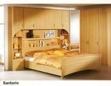 bedroom set Santorin , soild wood contemporary bedroom set