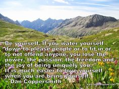 The San Juan Mountains of southwestern Colorado, featured here for this inspirational quote.