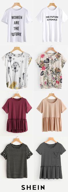 Casual t-shirts i'd wear that fashion, europe outfits и clot Europe Outfits, Fall Outfits 2018, Fall Outfits For Work, Cool Outfits, Simple Shirts, Casual T Shirts, Kinds Of Clothes, Clothes For Women, Simply Fashion