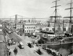 South+Street+and+Brooklyn+Bridge+1901