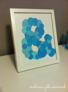 Framed Ampersand with Dots