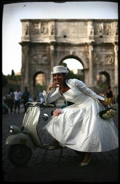 vespa wedding