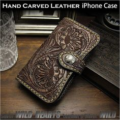 Iphone 7 Plus, Iphone 6, Iphone Cases, Leather Tooling, Leather Bag, Iphone Flip Case, Leather Folder, Global Market, Mobile Cases