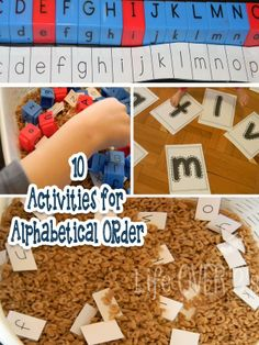 10 ideas for practicing alphabetical order and making it FUN!