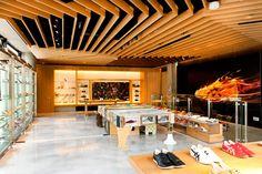 Onitsuka Tiger flagship store, Tokyo store design   http://retaildesignblog.net/2012/05/18/onitsuka-tiger-flagship-store-tokyo/#