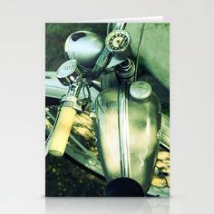 Old Moped Stationery Cards by Fine2art - $12.00