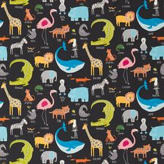 Style Library - The Premier Destination for Stylish and Quality British Design   Products   Animal Magic (NSCK120468)   Guess Who? Fabrics