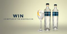 Win 2 x Bottles of Wingfield Gin Aperitif