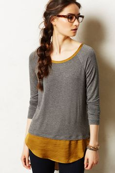 Avaline Scoopneck - anthropologie.com - One of my favorite color combinations!