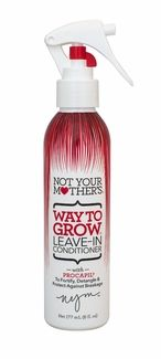 I need to try this! Not Your Mother's Way to Grow Leave-In Conditioner
