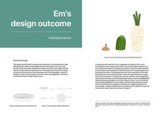 A4 double sided proposal infographics and layout design for global issues. #infographics #layout #outcome #fruits #vegetables #project #container #graphics #vector #design #layout #japan #australia #cartoon #illustration #analysis #emchengillustration