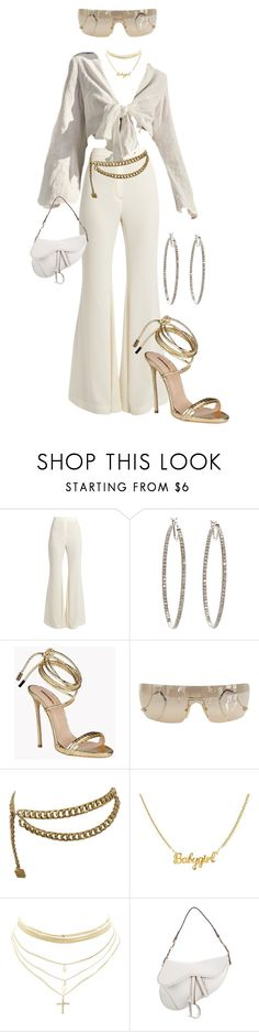 """""""Don't mingle with the bitters."""" by thaijohnson ❤ liked on Polyvore featuring E L L E R Y, Cathy Waterman, Dsquared2, Roberto Cavalli, Chanel, Charlotte Russe and Christian Dior"""