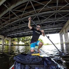 Almost fell in   #sup #supatx #supatxpaddleboards #paddleboarding #paddleboard #standuppaddle #stand_up_paddle #austintexas #atx #austin #ladybirdlake #townlake #bridge #ripcurl #kifaru #gopro #goprohero4 #hero4black by cole_enchilada