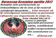 Horoscop aprilie 2017 Scorpion Scorpion, Blog, Astrology, Scorpio, Blogging