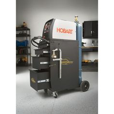 This patented Northern Industrial Welders Deluxe Welding Cabinet provides an integrated all-in-one solution for your welding set&am. Welding Set, Welding Table, Warehouse Shelving, Welding Machine, Metal Shop, Welding Projects, Tool Box, Workshop, Ideas