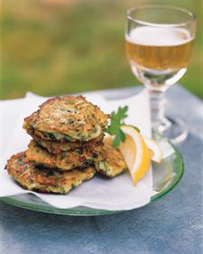 Zucchini Fritters - Martha Stewart Recipes