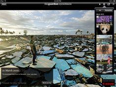 Eyewitness iPad app - amazing photography