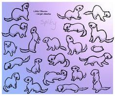 deviantART: More Like Ferret with Toy by ~Joceweir