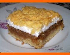 Fruit Recipes, Cooking Recipes, Russian Recipes, Sweet And Salty, Sweet Desserts, Sweet Tooth, French Toast, Food And Drink, Pie