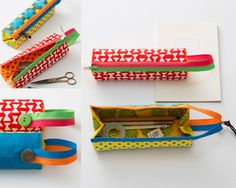 今号の大特集は「手づくり日本の夏」、巻頭は伊藤紀之さんの『浮世絵に描かれた日本の夏』をお届け。材料付録は手芸作家の下田直子さんがデザイン・監修「金魚のソーイングケース」。 Fabric Origami, Pouch Tutorial, Techniques Couture, Diy Bags, Sewing For Kids, Sewing Hacks, Sewing Projects, Sewing Crafts, Diy Crafts