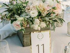Comment décorer le centre de table mariage? 50 idées en photos et vidéos!