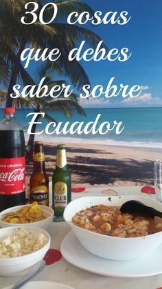 Cuantas cosas sabes sobre Ecuador? Mira esto!!