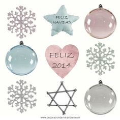 ¡Feliz Navidad y Feliz 2014! ★ ♥ ★ We wish you a Merry Christmas and a Happy New Year!