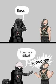 Lukes Brother?  Who would his mother be (assuming its not Padme)? Art by: GAF #darthvader #bane