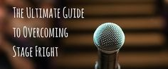 The Ultimate Guide to Overcoming Stage Fright http://takelessons.com/blog/how-to-overcome-stage-fright-z02?utm_source=Social&utm_medium=Blog&utm_campaign=Pinterest