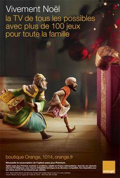 Vivement Noël la TV de tous les possibles. #OrangeNoel #OCS #TV #jeux http://vitrinedenoel.orange.fr/#