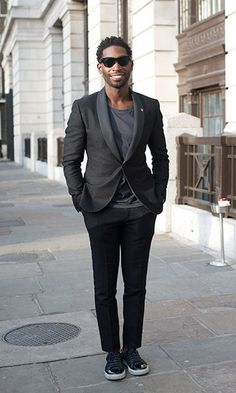 Tinie Tempah's effortlessly cool outfits have seen him mingle with fashion's elite and become a regular member of the coveted front row at Fashion Week. Tinie Tempah, Most Stylish Men, Hottest Male Celebrities, Pop Singers, Front Row, Cool Outfits, January 12, Street Style, Suits