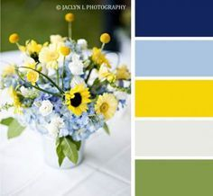 Partei Farbschema, Sommer Limonadenstand, Sommer Farbschemata, blau und y … - Party Decoration Ideen Kitchen Decor Themes, Kitchen Colors, Kitchen Yellow, Kitchen Ideas, Room Decor, Summer Wedding Colors, Summer Colors, Room Color Schemes, Room Colors
