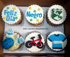 Bycicle Cupcakes