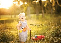 Whimsy & Style photography: The blog    One year old with radio flyer wagon
