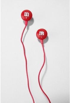 m & m headphones!