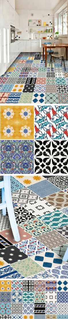 54 best Carreaux de ciment images on Pinterest Bathrooms, Tiles