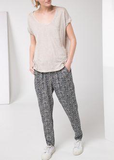 30.00 Mosaic print trousers