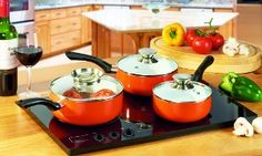 Three-Piece Ceramic Pan Set