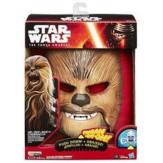 Star Wars The Force Awakens Chewbacca Talking Electronic Mask Haloween Age 5+ #StarWars
