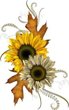 I would love to get a Fall theme tattoo for my daughter, love this design but I would use different colours.