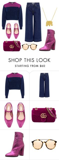 """""""just pink things"""" by realcherrybomb ❤ liked on Polyvore featuring M Missoni, 10 Crosby Derek Lam, Gucci, Just Cavalli, 3.1 Phillip Lim and Amanda Rose Collection"""
