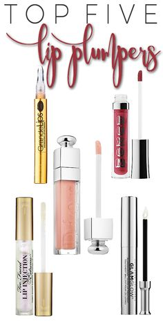 Top 5 Lip Plumpers