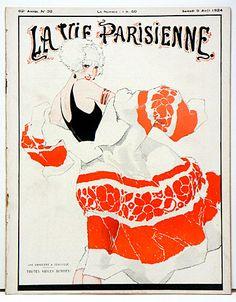 Original 1920's La Vie Parisienne Magazines for Sale