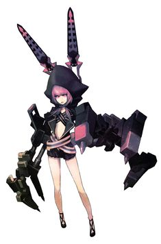 Looks a little Bit like a New girl in Black Rock shooter