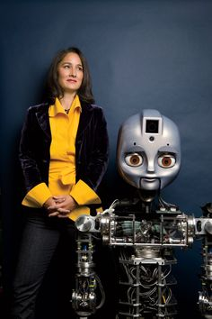 """Cynthia Breazeal. """"But the human-robot relationship is going to be its own thing, and it's important not to force-fit it into what we think a human-to-human relationship is."""""""