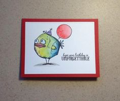 Bird Crazy Happy Birthday by Ptorkelson - Cards and Paper Crafts at Splitcoaststampers
