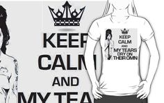Keep Calm Theory- AMY SONG 2 T-SHIRT by Alchimia